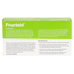 Fructaid Kapseln 60 Stück - Rückseite