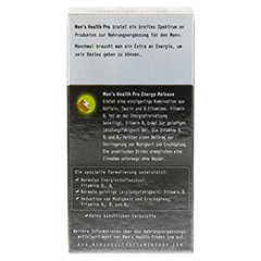 MEN'S HEALTH Pro Energy Release Sticks 16 Stück - Rückseite
