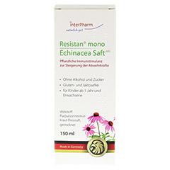 Resistan mono Echinacea Saft 150 Milliliter - Rückseite