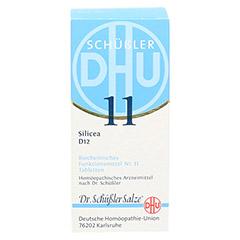 BIOCHEMIE DHU 11 Silicea D 12 Tabletten 200 Stück N2 - Rückseite
