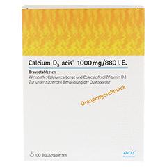 Calcium D3 acis 1000mg/880I.E. 100 Stück - Rückseite