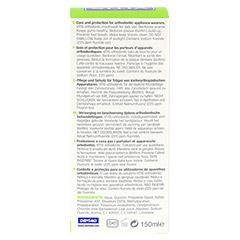 VITIS ORTHODONTIC Mundspülung 150 Milliliter - Rückseite