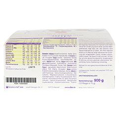 XLIM Aktiv Mahlzeit Riegel Vanille 12x75 Gramm - Oberseite