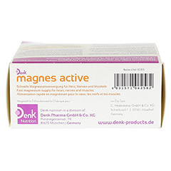 MAGNES active Denk Pulver 30 Stück - Oberseite