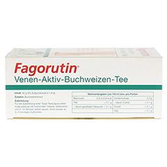 FAGORUTIN Venen-Aktiv-Buchweizen-Tee Filterbeutel 25 Stück - Oberseite