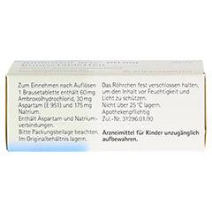 Ambroxol acis 60mg 10 Stück - Oberseite