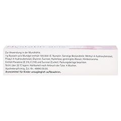 Nystatin acis Mundgel 25 Gramm N1 - Oberseite