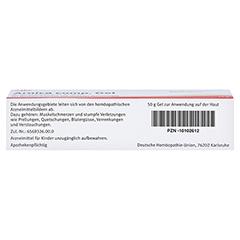 ARNICA COMP.Gel 50 Gramm N1 - Unterseite