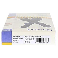 BELSANA Sommer Edition AD 4 schwarz 2 Stück - Unterseite