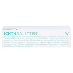 ICHTHRALETTEN magensaftresistente Tabletten 60 Stück - Unterseite