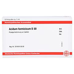 ACIDUM FORMICICUM D 30 Ampullen 8x1 Milliliter N1 - Vorderseite