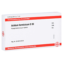 ACIDUM FORMICICUM D 30 Ampullen 8x1 Milliliter N1
