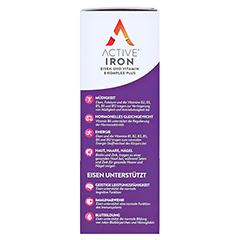 ACTIVE IRON Eisen und Vitamin B Komplex plus 60 Stück - Linke Seite