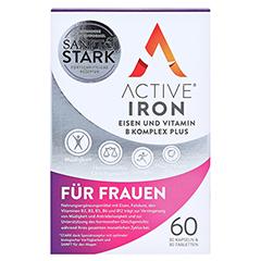 ACTIVE IRON Eisen und Vitamin B Komplex plus 60 Stück - Vorderseite
