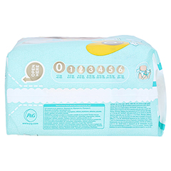 PAMPERS micro 24 Stück - Linke Seite