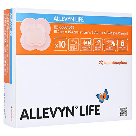 ALLEVYN Life 15,4x15,4 cm Silikonschaumverband 10 Stück