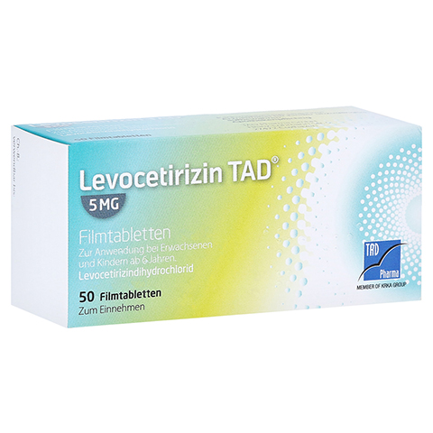 Levocetirizin TAD 5mg 50 Stück N2