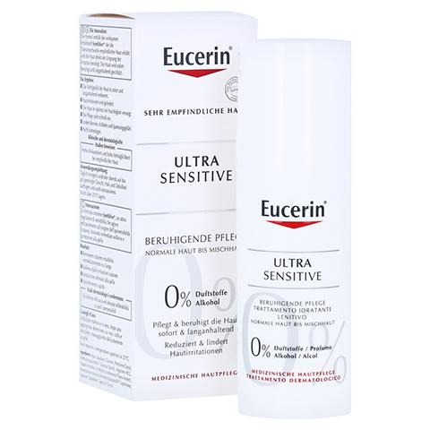 Eucerin UltraSensitive Beruhigende Pflege für normale bis Mischhaut 50 Milliliter
