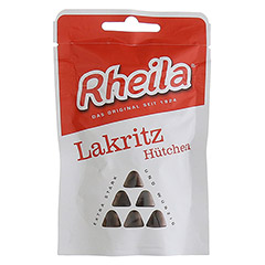 RHEILA Lakritz Hütchen mit Zucker 35 Gramm