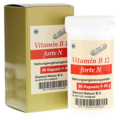 VITAMIN B12 forte N Kapseln 90 Stück
