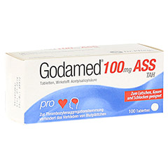 Godamed 100mg ASS TAH 100 Stück N3