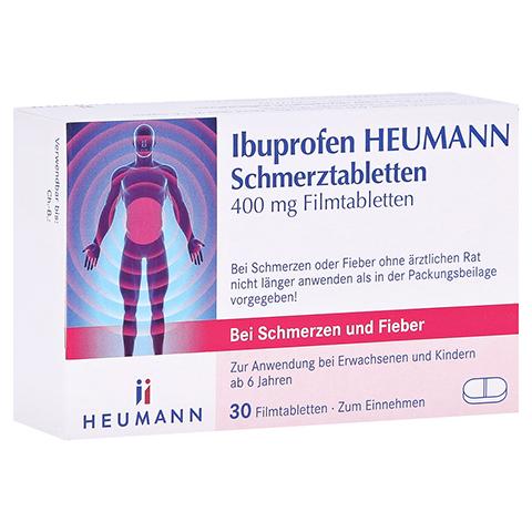 Ibuprofen Heumann Schmerztabletten 400mg 30 Stück N2