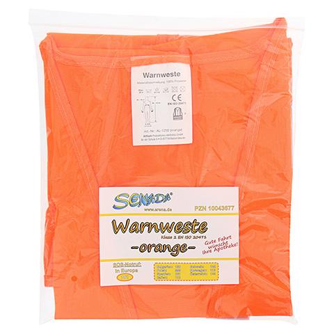 SENADA Warnweste orange im Beutel 1 Stück