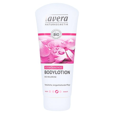 LAVERA Bodylotion Bio-Wildrose 200 Milliliter