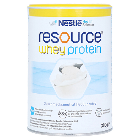 RESOURCE whey protein Pulver 300 Gramm