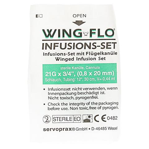 Wing Flo Flügelkanüle 21 G 1 Stück