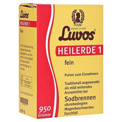 LUVOS Heilerde 1 fein 950 Gramm