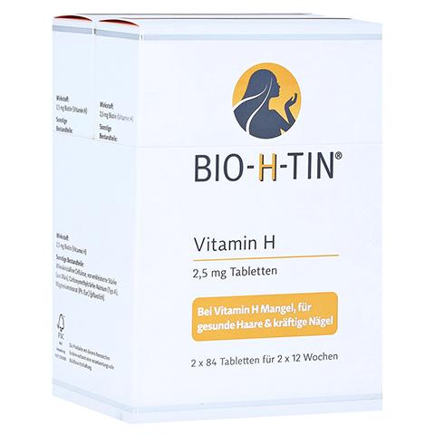 BIO-H-TIN Vitamin H 2,5mg 2x84 Stück