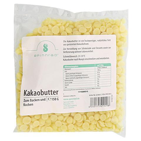 KAKAOBUTTER Pellets zum Backen 150 Gramm