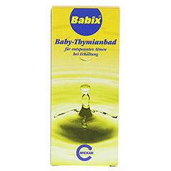 BABIX Baby Thymianbad 125 Milliliter - Vorderseite
