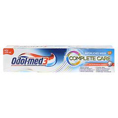 ODOL MED 3 Complete Care natürliches weiß Zahnpa. 100 Milliliter - Vorderseite