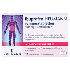 Ibuprofen Heumann Schmerztabletten 400mg 30 Stück N2 - Vorderseite