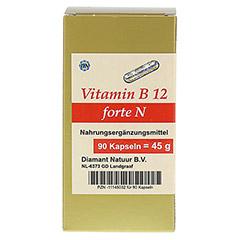 VITAMIN B12 forte N Kapseln 90 Stück - Vorderseite
