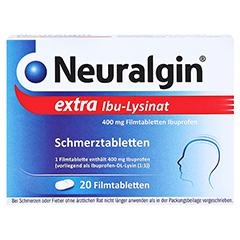 Neuralgin extra Ibu-Lysinat 20 Stück - Vorderseite
