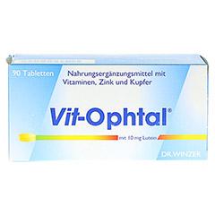 VIT OPHTAL mit 10 mg Lutein Tabletten 90 Stück - Vorderseite