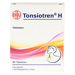 TONSIOTREN H Tabletten 60 Stück N1 - Vorderseite