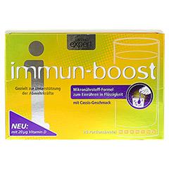 IMMUN-BOOST Orthoexpert Trinkgranulat 28x10.2 Gramm - Vorderseite