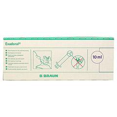 EXADORAL B.Braun orale Spritze 10 ml 100 Stück - Vorderseite