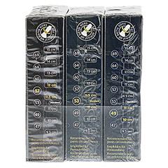 MYSIZE 57 Kondome 3 Stück - Linke Seite