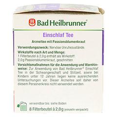 BAD HEILBRUNNER Einschlaf Tee Filterbeutel 8x2.0 Gramm - Linke Seite