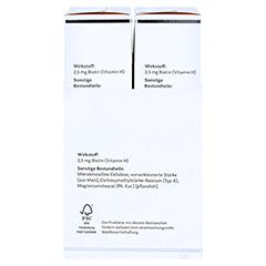 BIO-H-TIN Vitamin H 2,5mg 2x84 Stück - Linke Seite