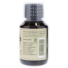 OLIVENBLATT-Extrakt NATURA 100% naturrein pur 100 Milliliter - Rechte Seite