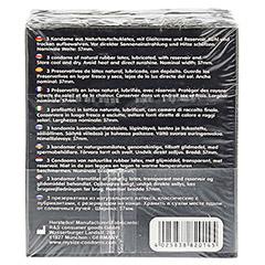 MYSIZE 57 Kondome 3 Stück - Rückseite