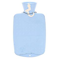 FASHY Kinderwärmflasche Halblamelle hellblau 1 Stück - Rückseite