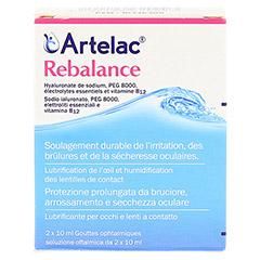 ARTELAC Rebalance Augentropfen 2x10 Milliliter - Rückseite
