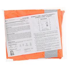 SENADA Warnweste orange im Beutel 1 Stück - Rückseite